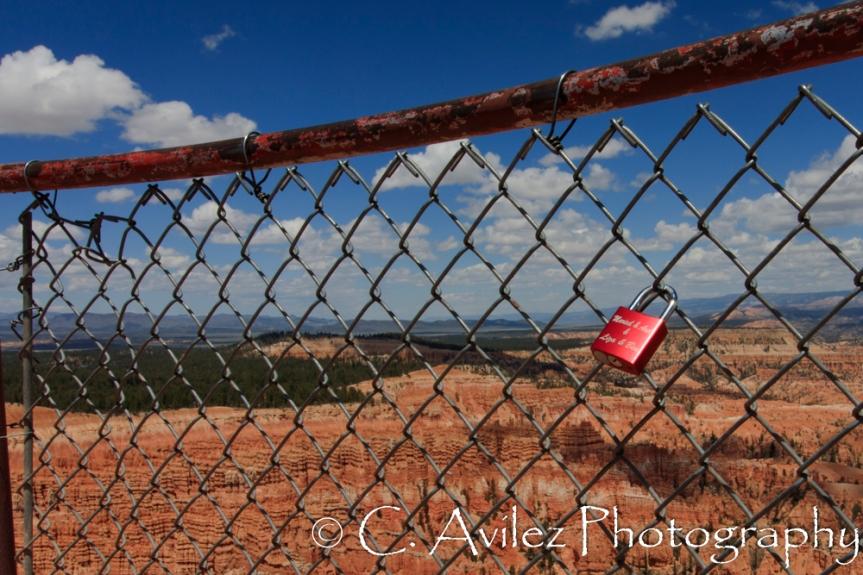 Love Locks in Bryce-300